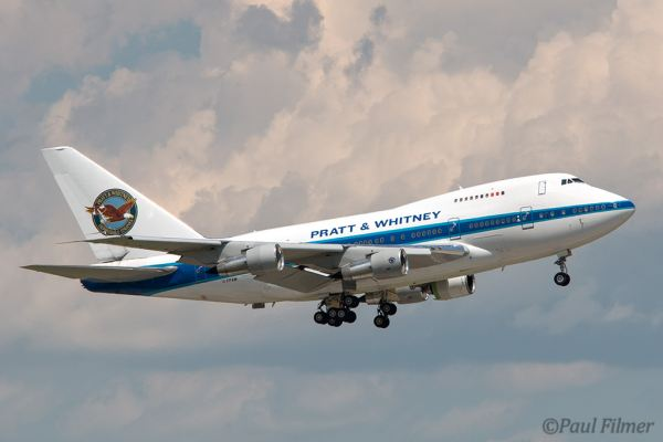 Pratt & Whitney B747SP by Paul Filmer.