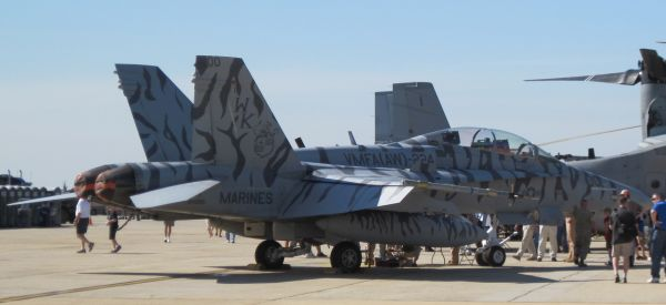 F/A-18 by David Vanderhoof