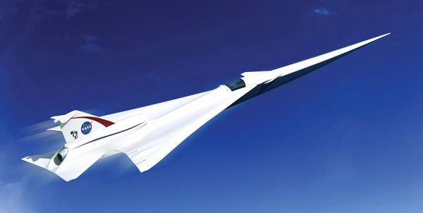 QueSST X-plane concept, courtesy Lockheed Martin