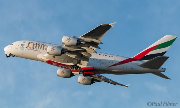 Emirates A380 by Paul Flimer