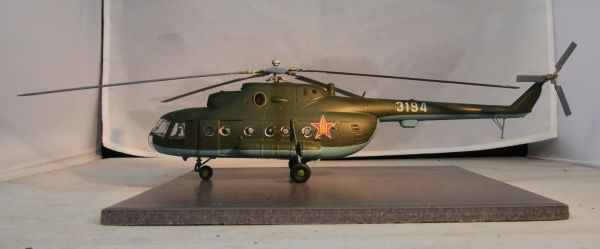 Ryan Hothersall's model Mil Mi-8 in Mongolian markings