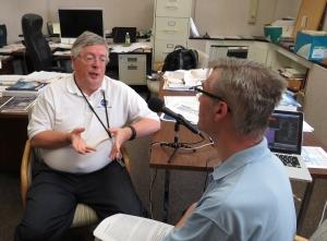 Dr. Richard Wahls and David Vanderhoof