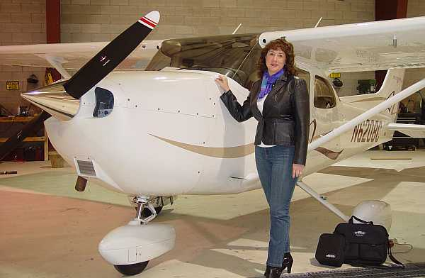 Paula Williams, aviation marketing specialty firm Aviation Business Consulting Inc.