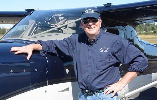 Robert Hamilton, president of glass cockpit avionics company Dynon