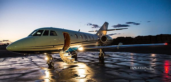 Holstein Aviation provides aircraft brokerage and acquisition services for business aircraft such as the Falcon 20.