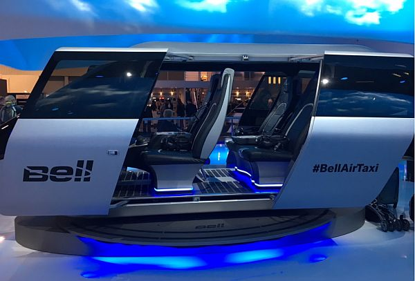BellAirTaxi at CES 2018