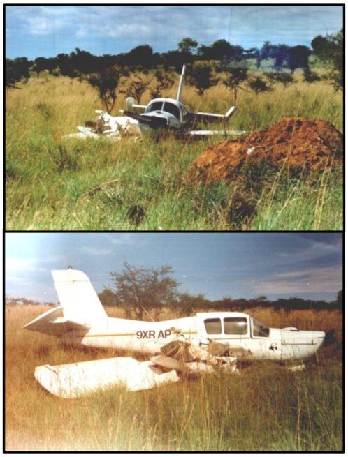 Crash in Rwanda.