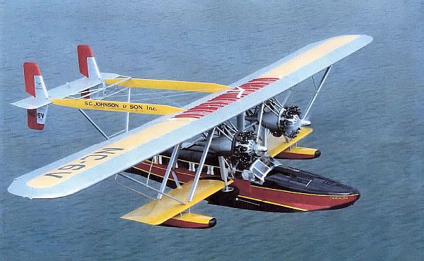 Sikorsky S-38 first designed and built in 1928.
