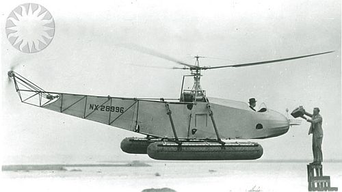 The Sikorsky VS-300. Credit: unknown (Smithsonian Institution)
