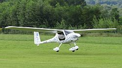 Pipistrel Alpha Electro electric aircraft.