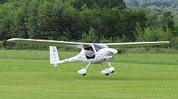 Pipistrel Alpha Electro electric aircraft.