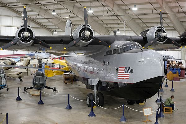 Sikorsky VS-44A Flying Boat at the New England Air Museum