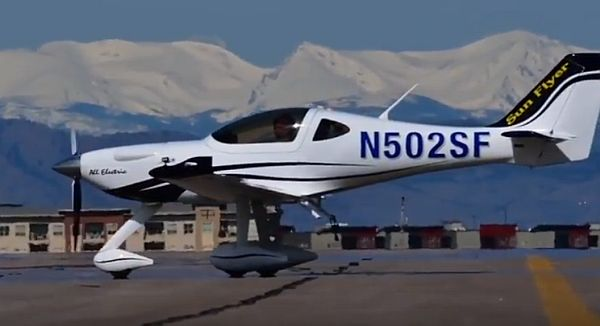 Bye Aerospace Sun Flyer Electric Aircraft