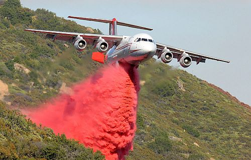 Aerial Firefighting. Courtesy Neptune Aviation Services.