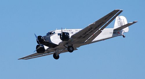 Ju 52 at AirVenture Oshkosh 2012. Photo by David Vanderhoof.