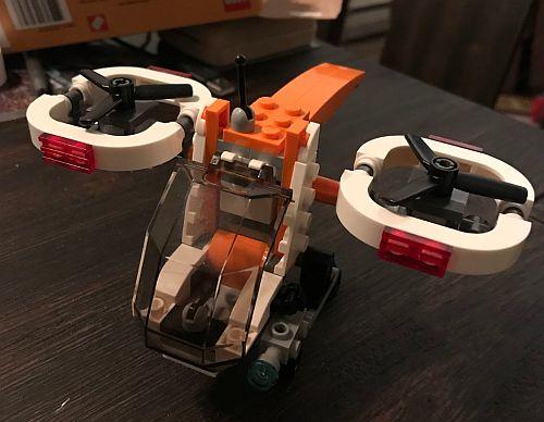 David's Lego drone.