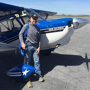 Greg Jolda, university aviation program