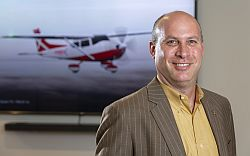 Roei Ganzarski, CEO of magniX. maker of electric airplane motors.