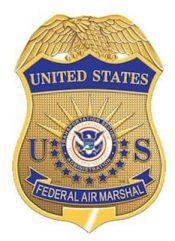 Federal Air Marshal Badge