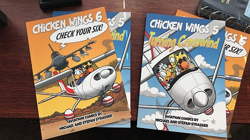 Chicken Wings book giveaway.
