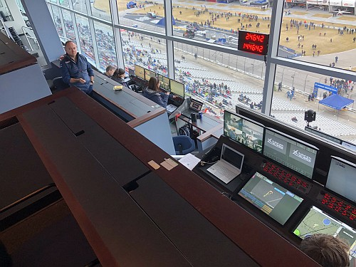 Red Bull race control . Photo by Launchpad Marzari.