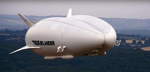 The Airlander 10. Courtesy Hybrid Air Vehicles.