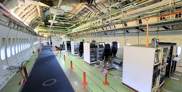Boeing 747 test aircraft virtual tour. Courtesy The Museum of Flight.