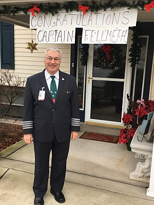Jeff Fellmeth, Boeing 737 MAX 8 Captain.