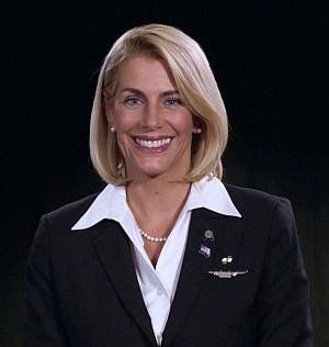 Sara Nelson, International President of the Association of Flight Attendants-CWA, AFL-CIO.