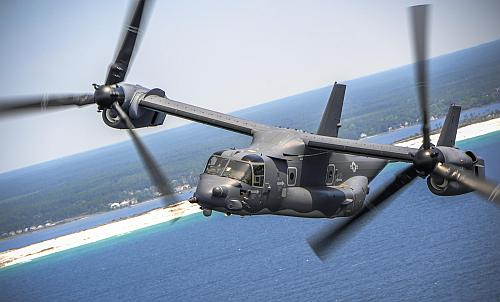 The V-22 Osprey image David wanted us to use. Photo courtesy U.S. Air Force.
