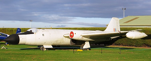 Canberra T19 WH904, courtesy Newark Air Museum.