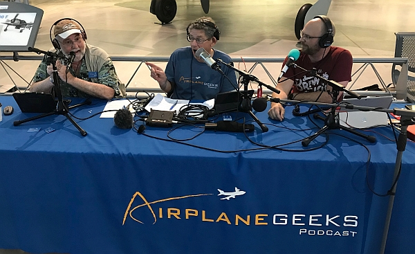 Micah, Max, and Robert at Innovations in Flight.