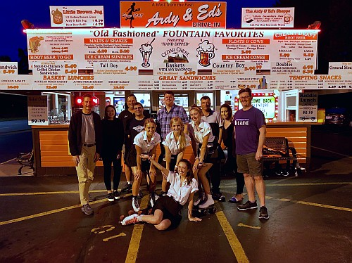 The Australians visit Andy & Ed's.