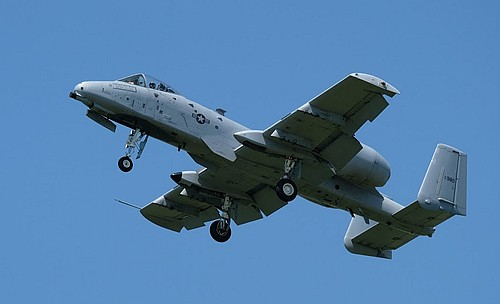 A-10 at the 2019 Geneseo, NY air show. Photo by Max Flight.