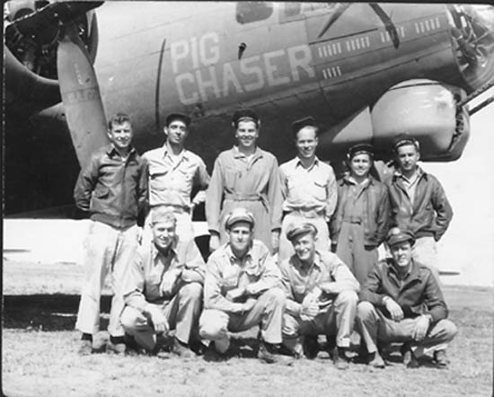 Pig Chaser and crew