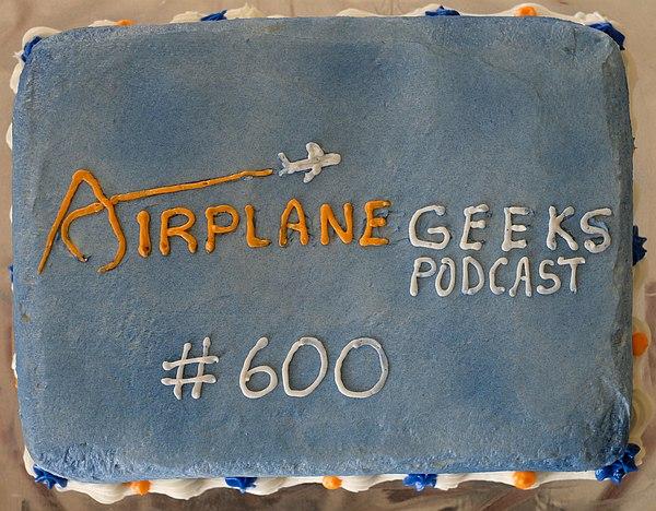 Episode 600 cake