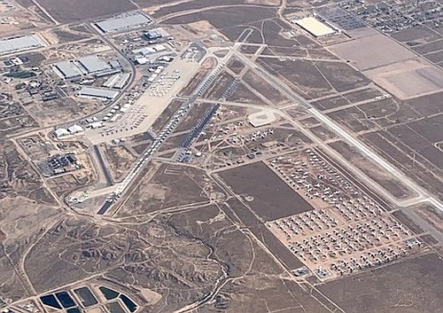 KVCV, Southern California Logistics Airport in Victorville, CA