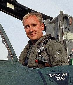 A-10 pilot Buck Wyndham