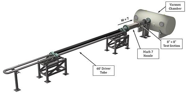 Mach 7 Ludwieg tube