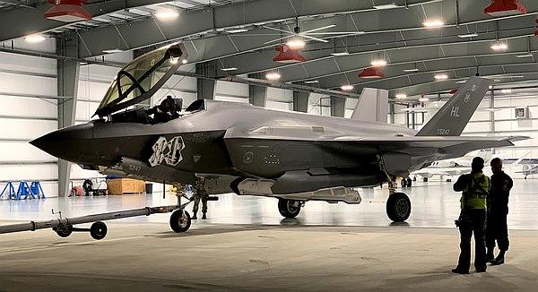 F-35 Lightning II Demonstration Team aircraft in Lakeland, Florida. (Photo © Max Flight.)